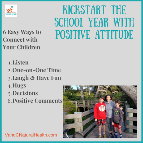 6 Easy Tips to Kickstart the School Year with Positive Attitude