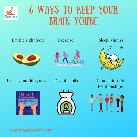 6 Ways To Keep Your Brain Young