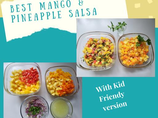 Best Mango and Pineapple Salsa