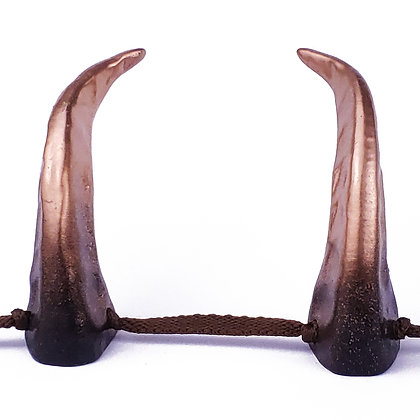Demon Horns - Black/Bronze Ombre
