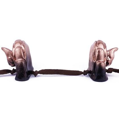 Wholesale Satyr Horns - Black/Bronze Ombre