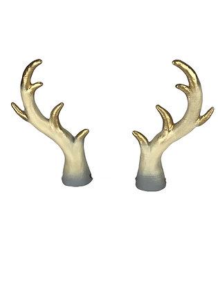 """Druid Horn - Natural White """"Ultra-Light"""""""