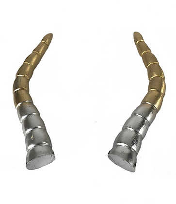 "Baphomet Horns - Silver/Gold ""Ultra-Light"""