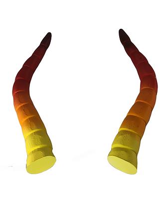"""Baphomet Horns -Sunset """"Ultra-Light"""""""