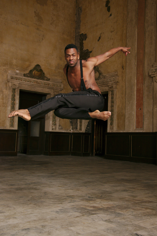 Delis Savigne Friñon of Alayo Dance Company by Andy Mogg