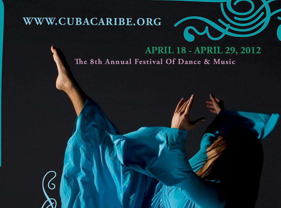 2012 CubaCaribe Festival Poster.png