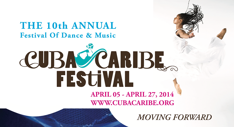 2014 CubaCaribe Festival Poster.png