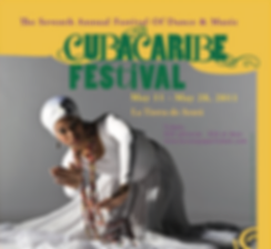 2011 CubaCaribe Festival Poster.png