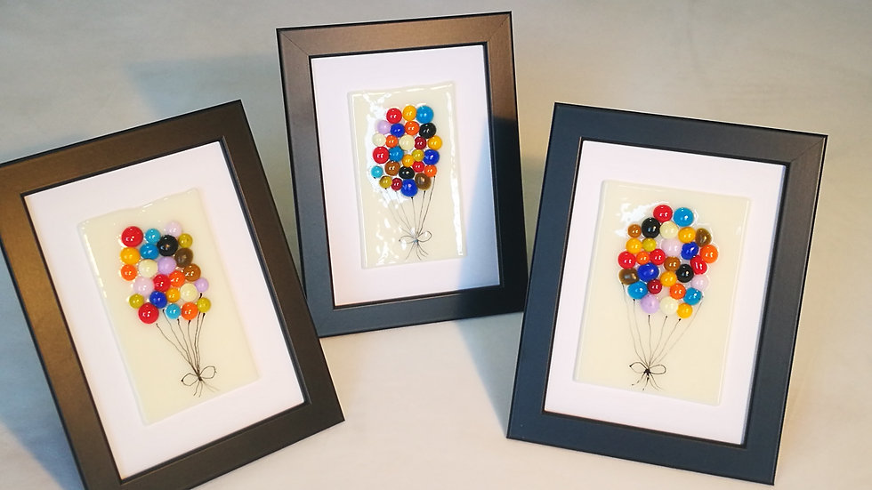 Picture Multi-Coloured Balloons