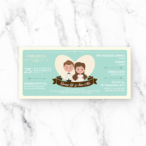 Open the envelope wedding invitation card malaysia stopboris Gallery