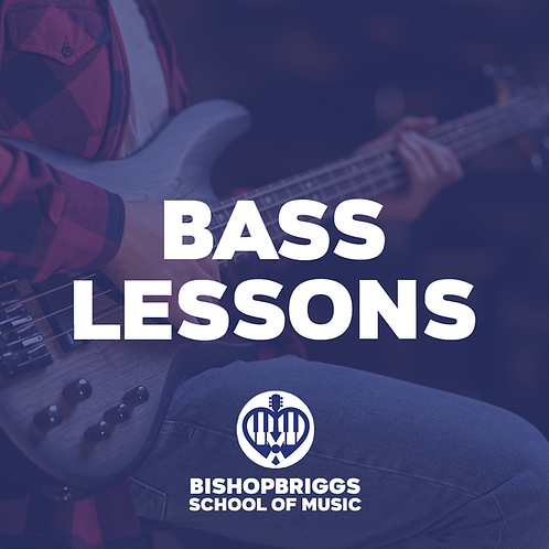 BASS GUITAR LESSONS (4 WEEK BLOCK)