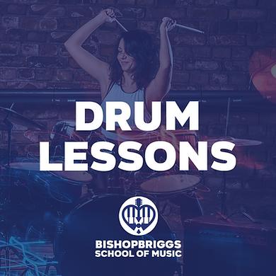 DRUM LESSONS (4 WEEK BLOCK)