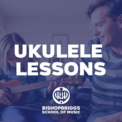 UKULELE LESSONS (4 WEEK BLOCK)