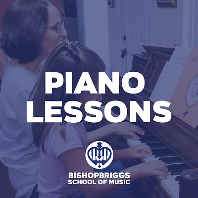 PIANO LESSONS (4 WEEK BLOCK)