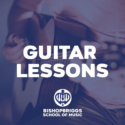 GUITAR LESSONS (4 WEEK BLOCK)