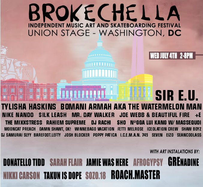 Brokechella 2018 line up