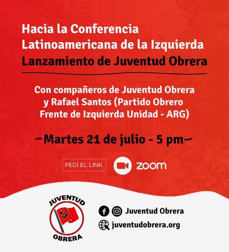 Invitación a la Conferencia Latinoamericana