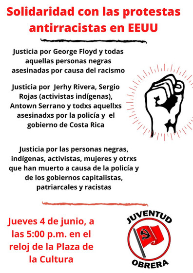 Protesta Antirracista 4 de junio 2020