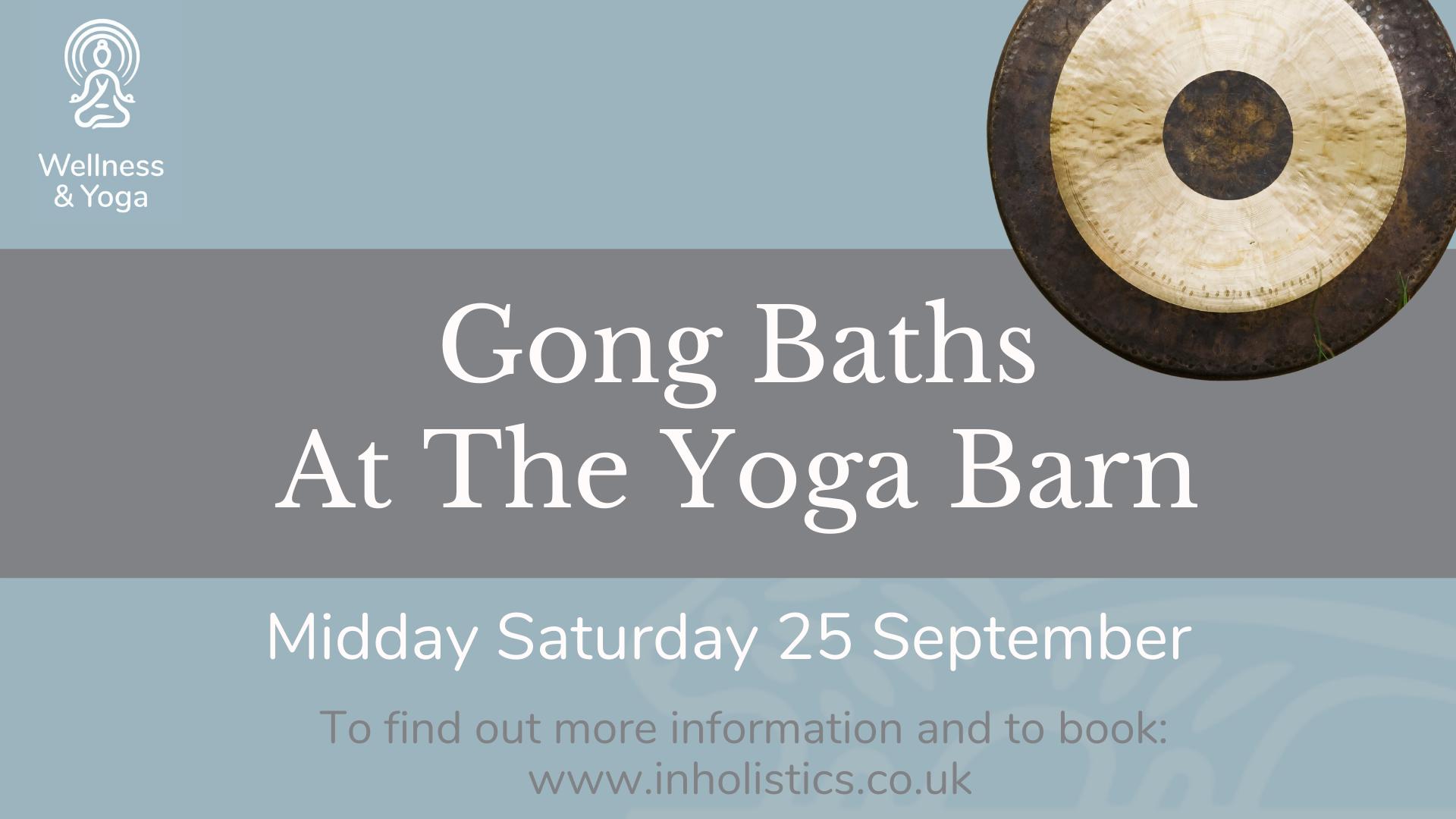 Gong Bath Workshop @ Jordan's Courtyard