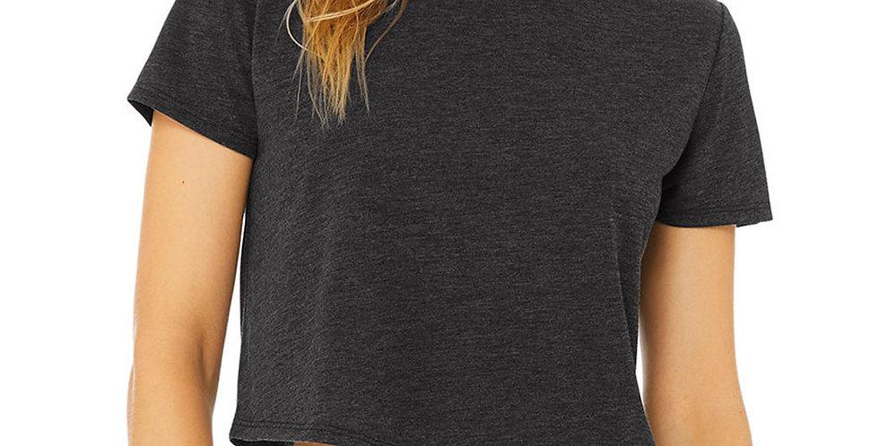 Bella + Canvas B8882 Ladies' Flowy Cropped T-Shirt