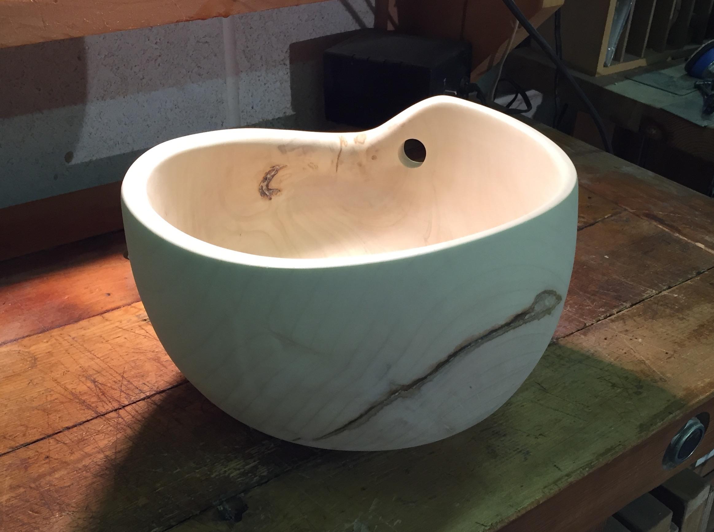 chestnut heart bowl