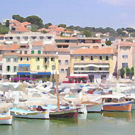 Cote D'Azur Harbor (Square)