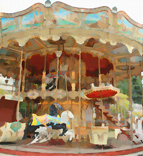 Paris Carousel I