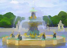 Paris Fountain I