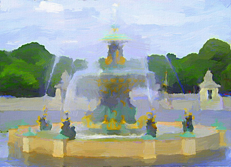 Paris Fountain I
