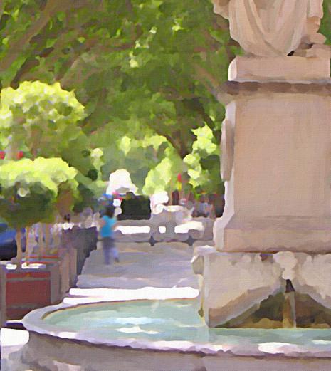 Boulevard Provence Fountain