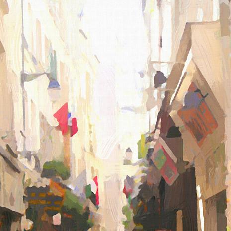 Paris Street Life I