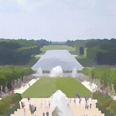 Gardens of Versailles IV (Square)