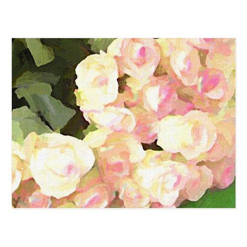 Paris Flower Market Roses Postcard-Blank