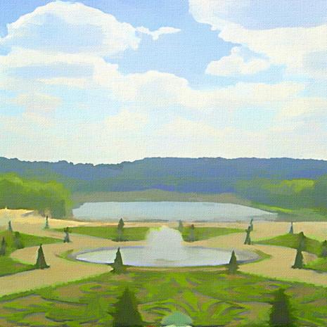 Gardens of Versailles I (Square)