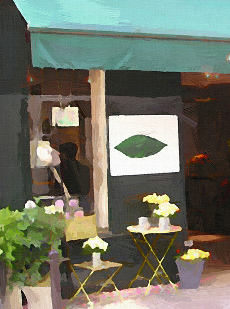 Paris Flower Shop I (Portrait 1)