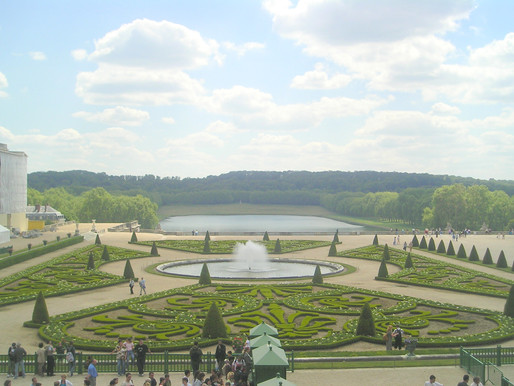 Versailles, The Formal Gardens...