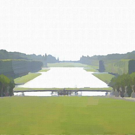 Gardens of Versailles II (Square)