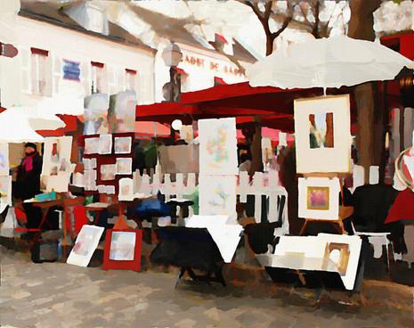 Montmartre Painters