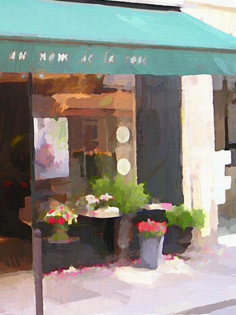 Paris Flower Shop I (Portrait 2)