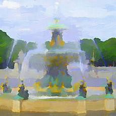 Paris Fountain III