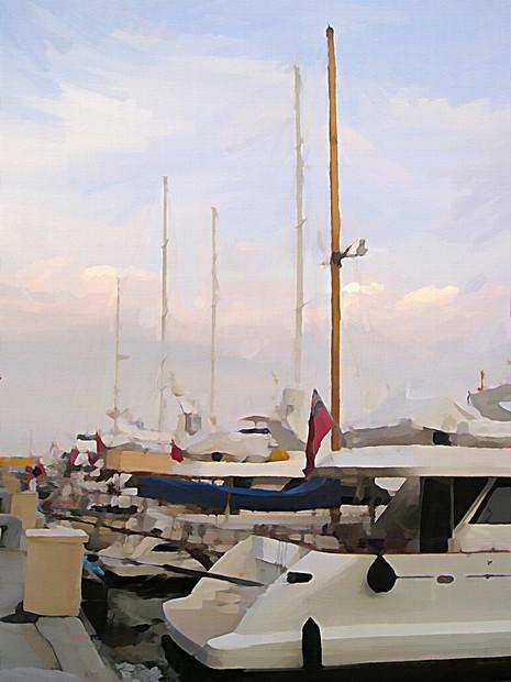 Cote D'Azur Dusk