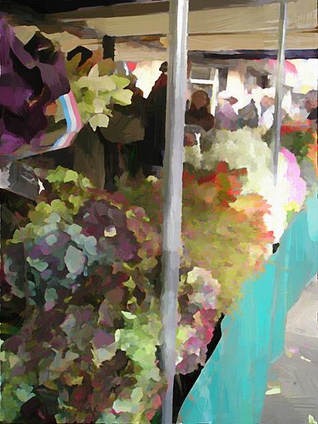 Paris Flower Market VI