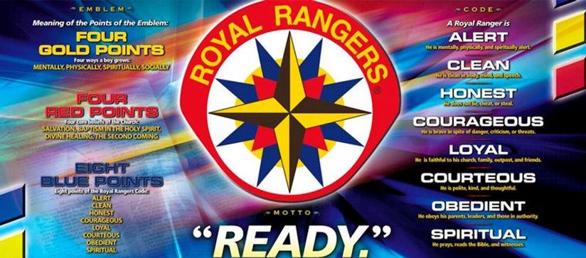 Royal Ranger Emblem explained