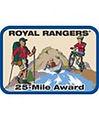 Royal Rangers 25-Mile Award
