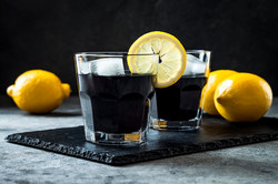 Activated Charcoal Lemonade
