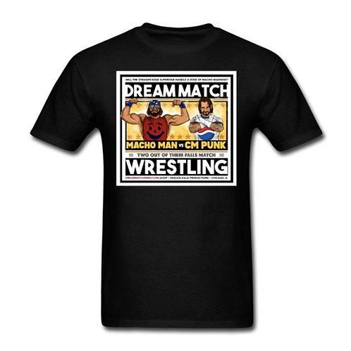 MACHO MAN vs CM PUNK! Men's T-Shirt