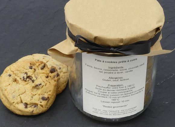 Préparation pour cookies prête à cuire