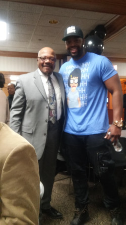Pastor Clifton Johnson and