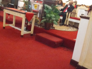 ON JANUARY 29, 2017 THERE WAS A SURPISE BIRTHDAY CELEBRATION FOR PASTOR CLIFTON JOHNSON
