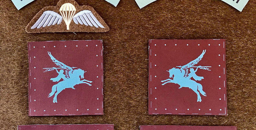 Parachute Troops (6th Airborne) Insignia Package